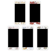 【ディズニー】ディズニー iPhone 6s/6用 衝撃を軽減する液晶保護フィルム