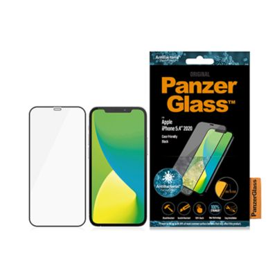PanzerGlass iPhone 12 mini 衝撃吸収 Edge-to-Edge ガラスフィルム