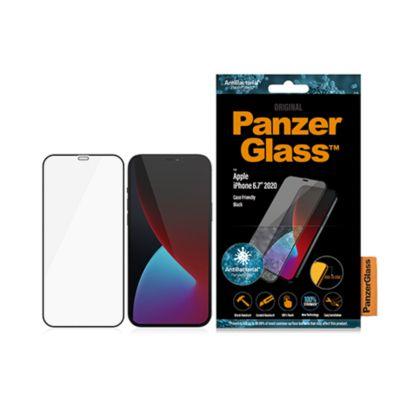 PanzerGlass iPhone 12 Pro Max 衝撃吸収 Edge-to-Edge ガラスフィルム
