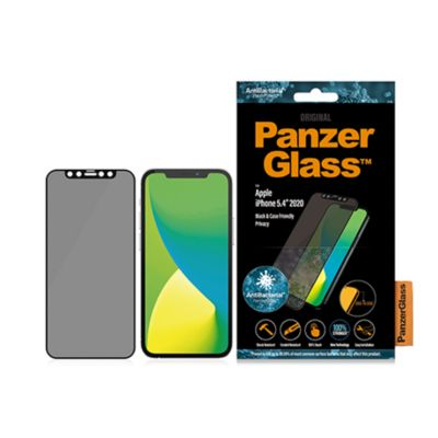 PanzerGlass iPhone 12 mini Privacy 覗き見防止 Edge-to-Edge ガラスフィルム