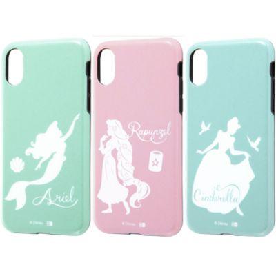 ray-out iPhoneXS ケース ディズニー キャラクター TPU ソフト 耐衝撃 Light Pastel