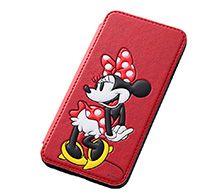 【ディズニー】iPhone 6用 ディズニー・ポップアップ・ブックカバータイプ・レザージャケット(合皮タイプ)