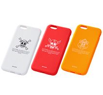 【ONE PIECE】iPhone 6s/6用 ワンピース・シリコンジャケット