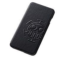 【ONE PIECE】iPhone 6 Plus用 ワンピース・ポップアップ・ブックカバータイプ・レザージャケット(合皮タイプ)