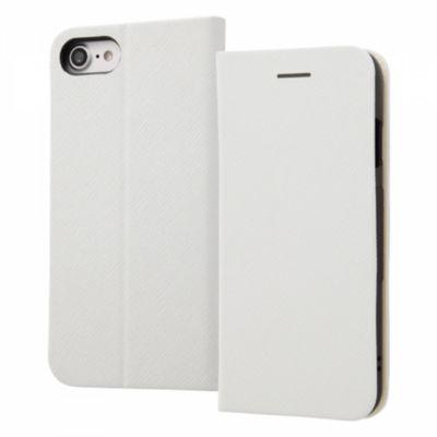 ray-out iPhone SE(第2世代)/8/7 手帳型ケース マグネットタイプ ホワイト
