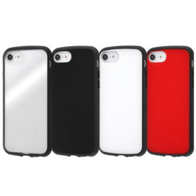 ray-out iPhone SE(第2世代)/8/7/6s/6 耐衝撃ハイブリッドケース Puffull