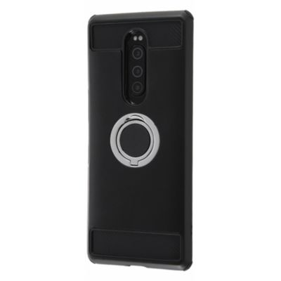 ray-out Xperia 1 耐衝撃 リング付360