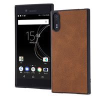 ray-out Xperia XZs オープンレザーケース スマート