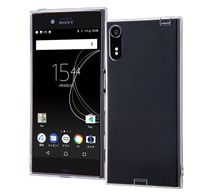 ray-out Xperia XZs TPUケース コネクタキャップ付き