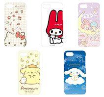 gourmandise サンリオキャラクターズ iPhone 8 / 7 / 6s/6対応ハードケース
