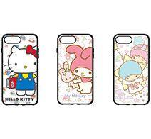 gourmandise サンリオキャラクターズ IIII fit iPhone 8 Plus / 7 Plus / 6s Plus/6 Plus対応ケース