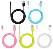 SoftBank SELECTION USB Color Cable with Lightning connector