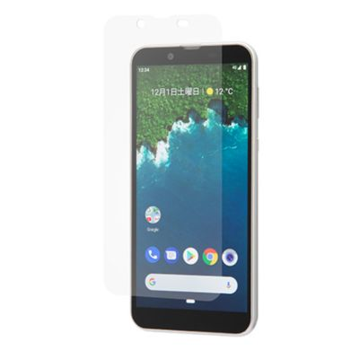 SoftBank SELECTION 衝撃吸収 反射防止保護フィルム for Android One S5