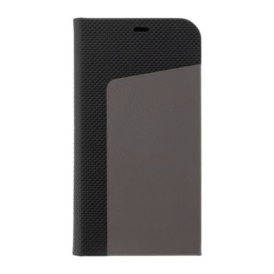 SoftBank SELECTION Seamless Leather Flip for iPhone 12 mini ブラック