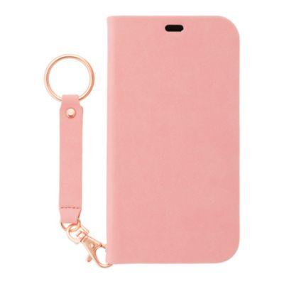 SoftBank SELECTION Stand Flip (ストラップ付き) for iPhone 12 mini ピンク
