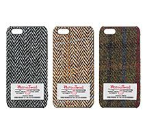 �t�@�u���b�N�J�o�[�h�P�[�X Harris Tweed for iPhone 5s/5