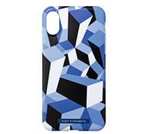 SoftBank SELECTION ELEY KISHIMOTO Design Soft Case for iPhone XS / X