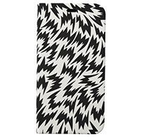 SoftBank SELECTION ELEY KISHIMOTO Design Stand Flip for iPhone X