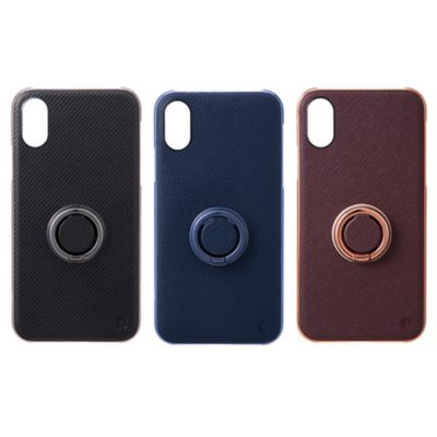 SoftBank SELECTION INVOL Finger Ring Case for iPhone XS / X