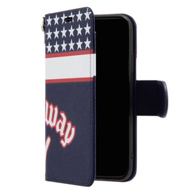 SoftBank SELECTION Callaway Design Stand Flip for iPhone XS / X
