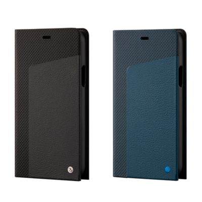 SoftBank SELECTION RILEGA Seamless Leather Flip for iPhone 11