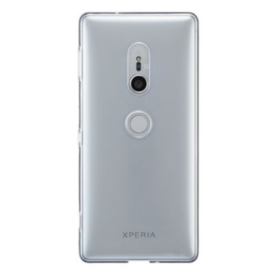 SoftBank SELECTION クリアソフトケース for Xperia™ XZ2