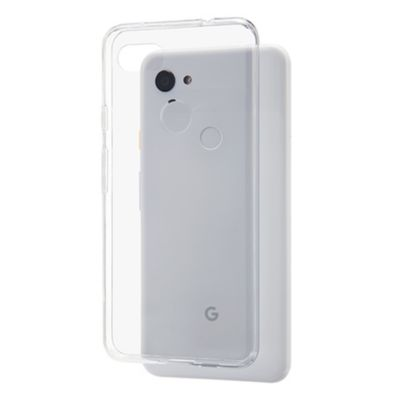 SoftBank SELECTION クリアソフトケース for Google Pixel 3a XL
