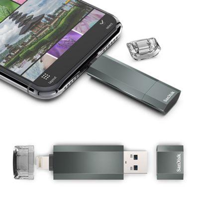 SanDisk iXpand Smart フラッシュドライブ 256GB/64GB