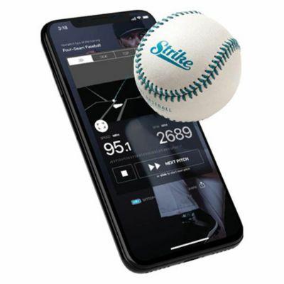 投球データを計測できるスマート野球ベースボール(硬球専用) STRIKE