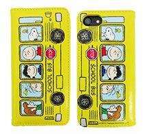 gourmandise ピーナッツ iPhone 7対応フリップカバー