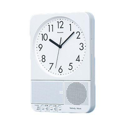アウトレット オフィス電波時計メロディウォーク