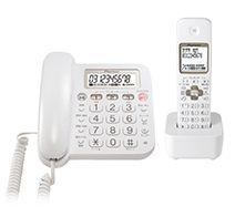 Pioneer デジタルコードレス留守番電話機 TF-SA15S-W