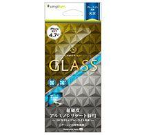 Simplism iPhone 8 ブルーライト低減 アルミノシリケートガラス