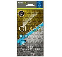 Simplism iPhone 8 Plusブルーライト低減 アルミノシリケートガラス