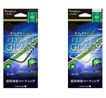Simplism iPhone X [FLEX 3D] 複合フレームガラス
