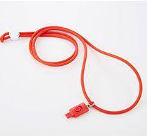 Simplism Lightningコネクター用ネックストラップ