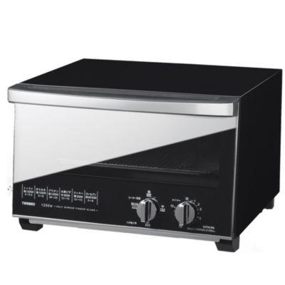ツインバード ミラーガラスオーブントースターTS-D048B