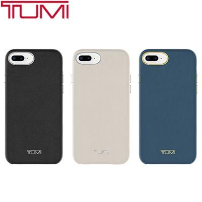 best loved cb865 33c57 TUMI Leather Wrap Case for iPhone 8 Plus / 7 Plus / 6s Plus/6 Plus