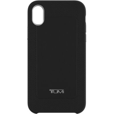 Tumi iPhoneXR ケース TUMI LEATHER COMOLD CASE