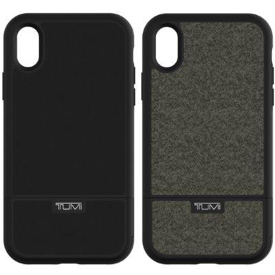 Tumi iPhoneXR ケース TUMI KICKSTAND CARD CASE