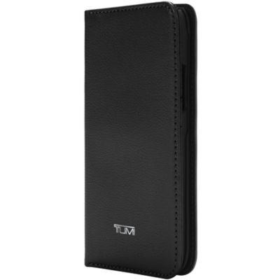 Tumi iPhoneXR ケース 手帳型 TUMI WALLET FOLIO
