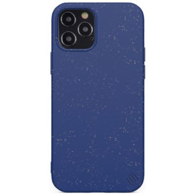 Uunique iPhone12Pro/iPhone12 Anti Microbial Eco Protection Case ブルー