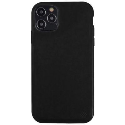 Uunique iPhone12Pro/iPhone12 Eco Leather Protection Case ブラック