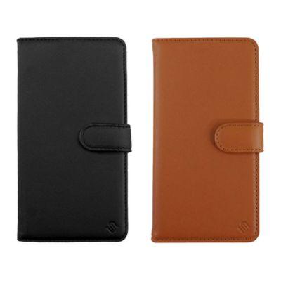 Uunique iPhone12Pro/iPhone12 Eco Leather Protection 2in1 Folio Case ブラック