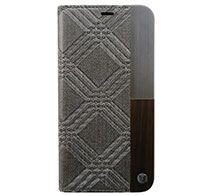 UUNIQUE 50:50 LUXE CROC - FOLIO HARD SHELL for iPhone XS / X