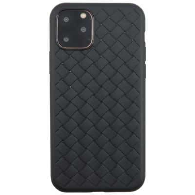 UUNIQUE iPhone11Pro WEAVE TEXTURE BACK SHELL