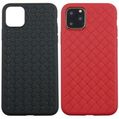 UUNIQUE iPhone11 WEAVE TEXTURE BACK SHELL