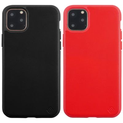 UUNIQUE iPhone11ProMax 100% ECO LEATHER/ECO BACK SHELL CASE