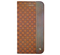UUNIQUE Wooden Case with Checker Emboss iPhone 6 Plus