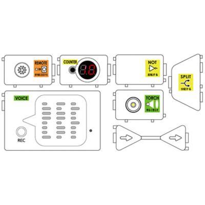 PIECE追加モジュールセット1 エレキット イーケイジャパン ZZ-ST01